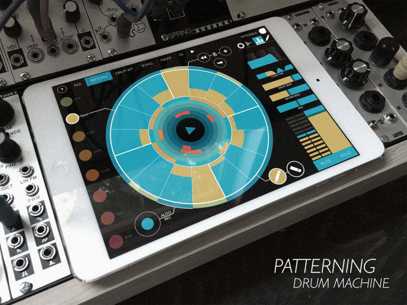 Patterning Drum Machine